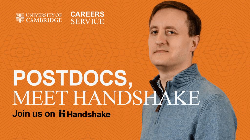 Postdocs, meet Handshake